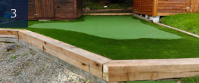 putting green completion