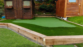 Golf Putting Green at Home
